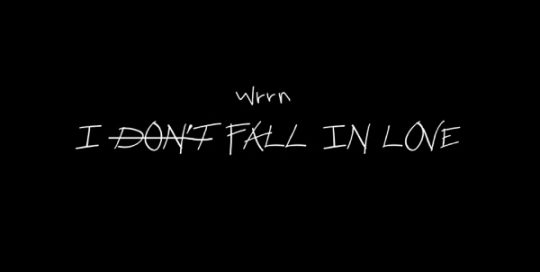 WRRN - I Don't Fall In Love